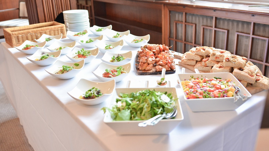 Catering Options Available