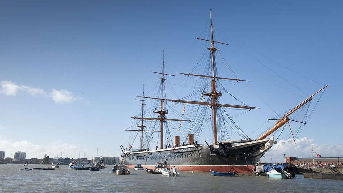 Portsmouth Historic Dockyard © National Museum of the Royal Navy