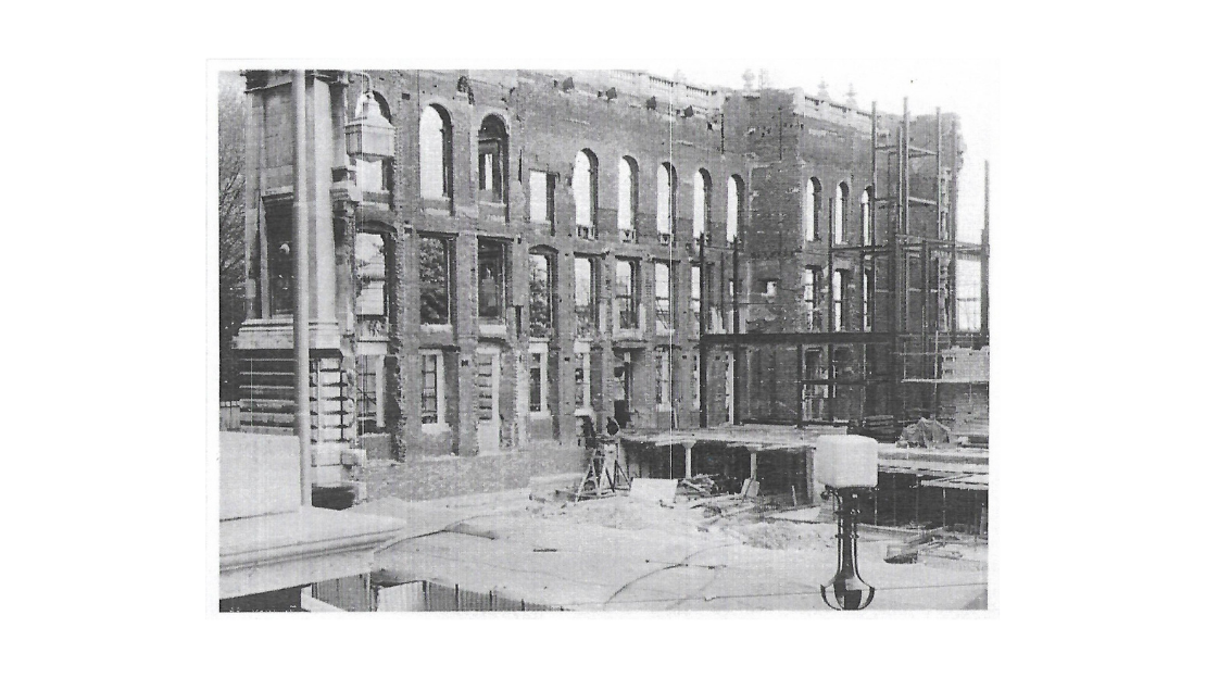 Rebuilding of the Guildhall